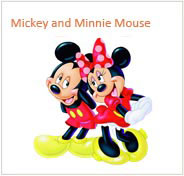 Mickey and Minnie Mouse Ürünleri
