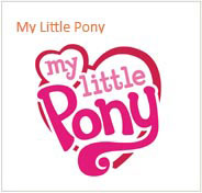 My Little Pony Ürünleri