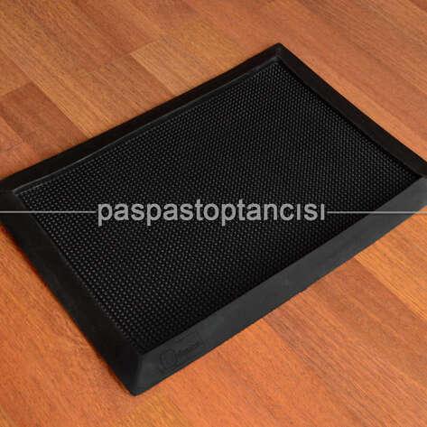 Paspas Toptancısı - Kauçuk Hijyen Paspas Siyah (1)