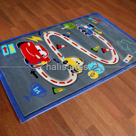 - Şimşek McQueen Trafik Çocuk Halıları Kids 996 (1)
