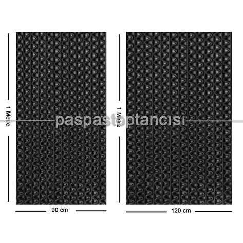 Paspas Toptancısı - Z Mat Islak Zemin Paspası Eko 4 mm Siyah (1)
