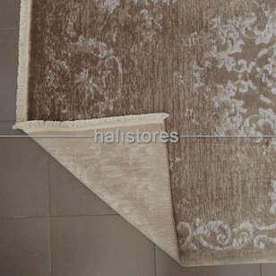 %100 Bambu Özel Tezgah Halısı HDX 01 Toprak - Thumbnail