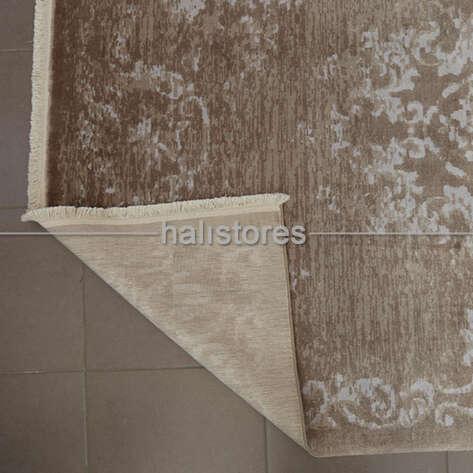 %100 Bambu Özel Tezgah Halısı HDX 01 Toprak