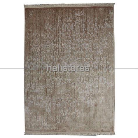 %100 Bambu Özel Tezgah Halısı HDX 02 Toprak