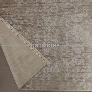 %100 Bambu Özel Tezgah Halısı HDX 02 Toprak - Thumbnail