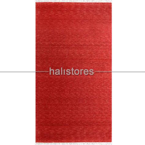 Liviadora - %100 Yün Kırmızı Renkli Özel Tezgah Halısı 151-K (1)