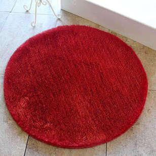 Alessia - Alessia Colors Of Yuvarlak Banyo Halısı Kırmızı (1)