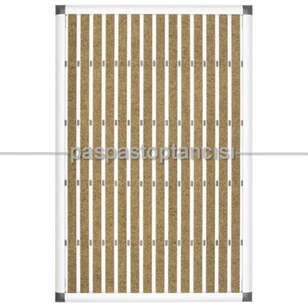 Paspas Toptancısı - Alüminyum Paspas Bukle Halı Fitilli EM1000 Bej (1)