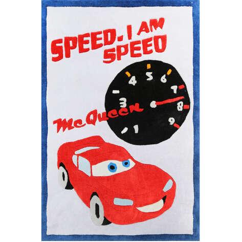 Halıstores - Arabalı Erkek Çocuk Halısı Speed (1)