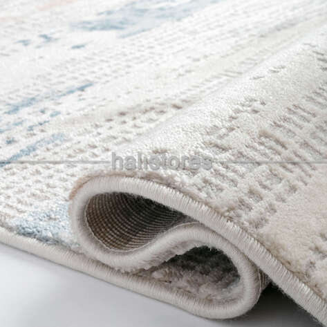 Bahariye Halı - Bahariye Halı Craft 9125 Bej Mavi (1)