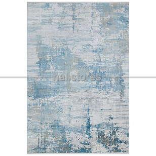 Halıstores - Bambu Halı Fresco 01 Bej-Mavi (1)