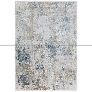 Halıstores - Bambu Halı Fresco 02 Bej-Mavi (1)