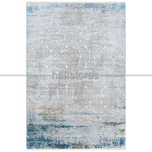 Halıstores - Bambu Halı Fresco 03 Bej-Mavi (1)