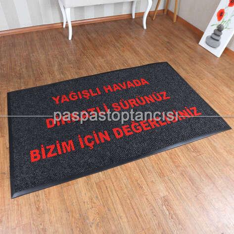 Paspas Toptancısı - Benzin İstasyonları için Logolu Paspas (1)