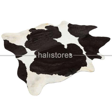 Liviadora - Bufalo Siyah-Beyaz Deri Halı 29434 (1)