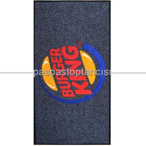 Paspas Toptancısı - Burger King için Logolu Paspas (1)