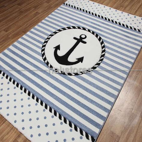 Çapalı Denizci Erkek Çocuk ve Bebek Halısı Kids 04
