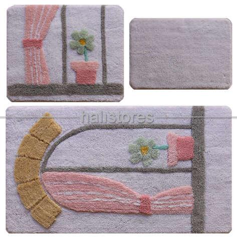 Chilai Home - Chilai Home Akrilik 3lü Klozet Takımı Bodrum (1)