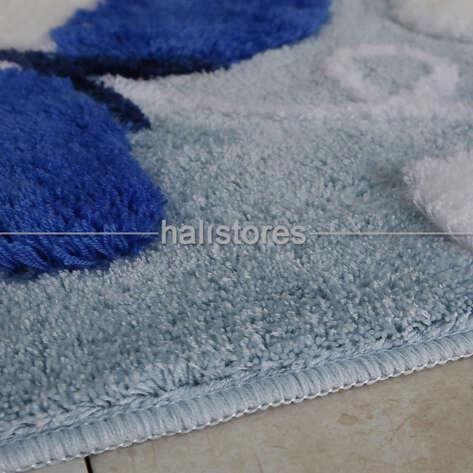 Chilai Home - Chilai Home Akrilik 3lü Klozet Takımı Mari Mavi (1)