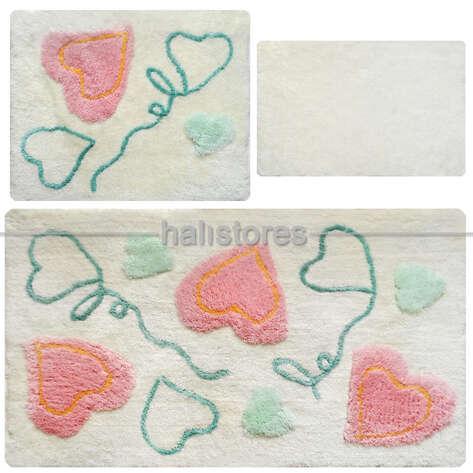 Chilai Home - Chilai Home Aşkım Akrilik 3lü Klozet Takımı (1)