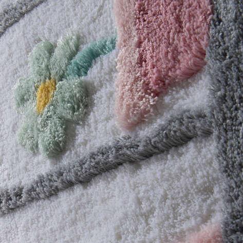 Chilai Home Banyo Halısı Bodrum Beyaz