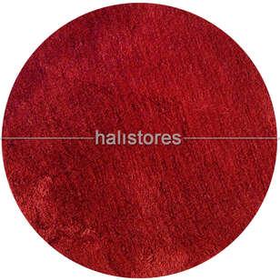 Chilai Home - Chilai Home Colors Of Yuvarlak Banyo Halısı Kırmızı (1)