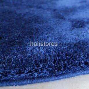 Chilai Home - Chilai Home Koyu Mavi Yuvarlak Banyo Halısı Havai (1)