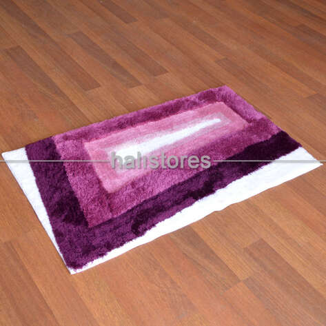 Confetti Halı - Confetti 2li Klozet Takımı Ninova Patlıcan (1)