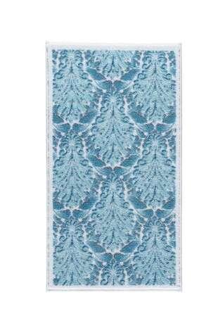 Confetti Halı - Confetti 2li Klozet Takımı Ornamental Mavi (1)