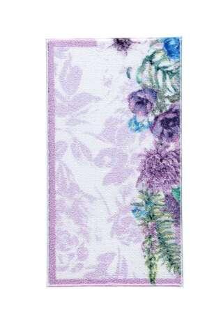 Confetti Halı - Confetti 2li Klozet Takımı Pick Flower Lila (1)