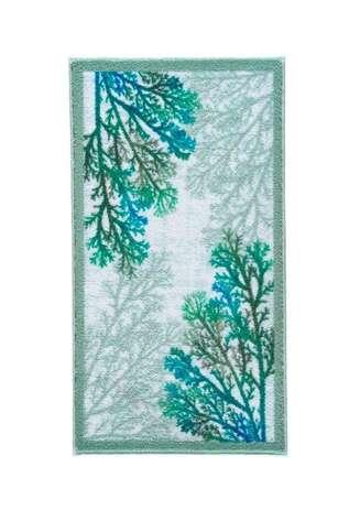 Confetti Halı - Confetti Banyo Halısı Coral Yeşil (1)