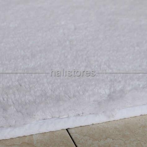 Confetti Halı - Confetti Banyo Halısı Cotton Calypso Beyaz (1)