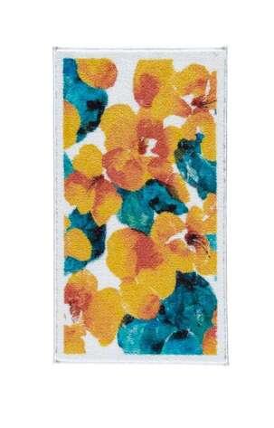 Confetti Halı - Confetti Banyo Halısı Flower Dust Sarı (1)