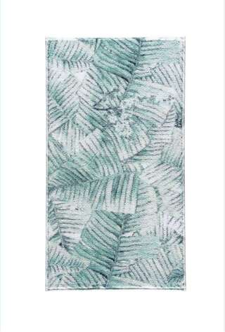 Confetti Halı - Confetti Banyo Halısı Jungle Yeşil (1)