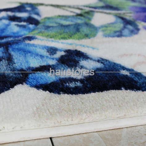 Confetti Halı - Confetti Banyo Halısı Morpho Lila (1)