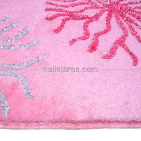 Confetti Halı - Confetti Banyo Halısı Myra Pastel Pembe (1)