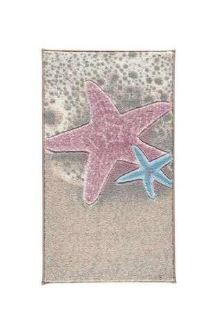 Confetti Halı - Confetti Banyo Halısı Sea Star Pembe (1)