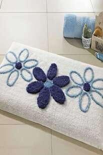 Confetti Banyo Halısı Sera Beyaz - Thumbnail