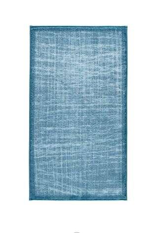 Confetti Halı - Confetti Banyo Halısı Stream Antik Mavi (1)