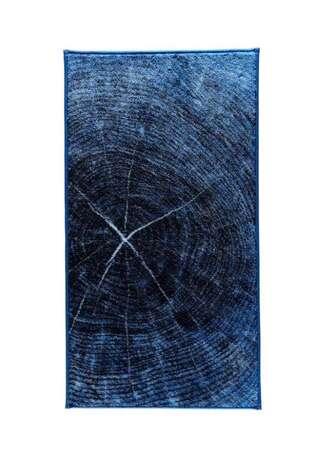 Confetti Halı - Confetti Banyo Halısı Timber Mavi (1)