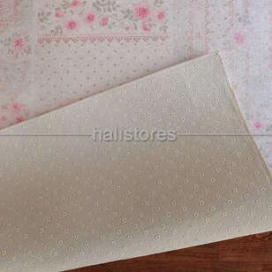 Confetti Baskılı Yolluk Halı Romantic Patch Mint Yeşili - Thumbnail