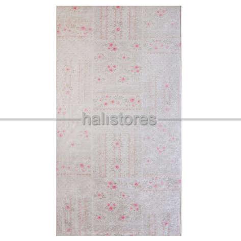 Confetti Halı - Confetti Baskılı Yolluk Halı Romantic Patch Mint Yeşili (1)