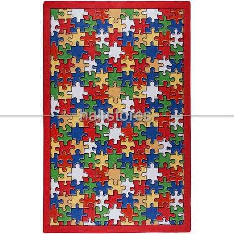 Confetti Halı - Confetti Çocuk Halısı Jigsaw Puzzle (1)