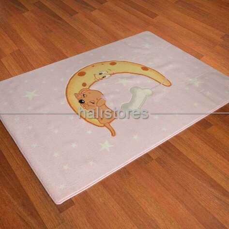Confetti Halı - Confetti Çocuk Halısı Moon Pembe (1)