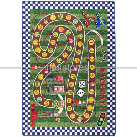 Confetti Halı - Confetti Çocuk Halısı Racing Game (1)