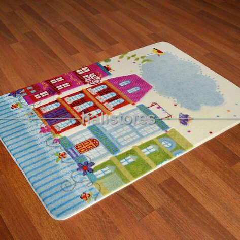 Confetti Halı - Confetti Çocuk Halısı Sweet Home (1)