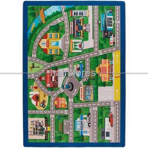 Confetti Halı - Confetti Çocuk Halısı Traffic Lanes (1)
