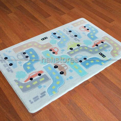 Confetti Halı - Confetti Çocuk ve Bebek Halıları Baby Car (1)