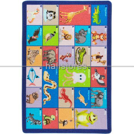 Confetti Halı - Confetti Eğitici Anaokulu ve Kreş Halısı Meet The Animals (1)