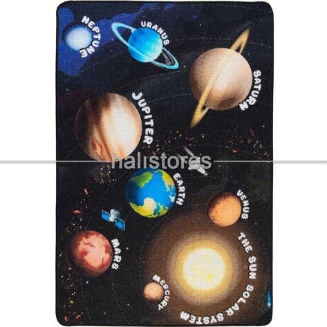 Confetti Halı - Confetti Eğitici ve Öğretici Anaokulu Halısı Gezegenler (1)